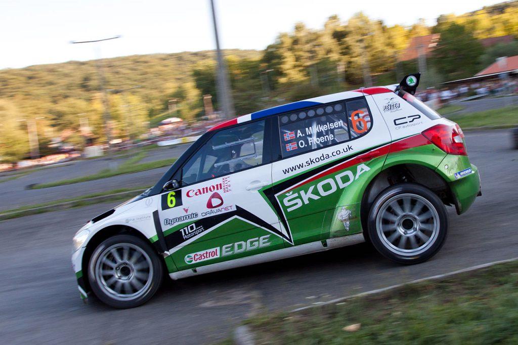 Andreas Mikkelsen la raliul Monte Carlo IRC