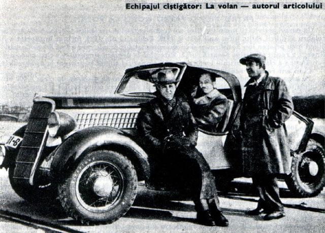 Petre G Cristea Monte Carlo 1936